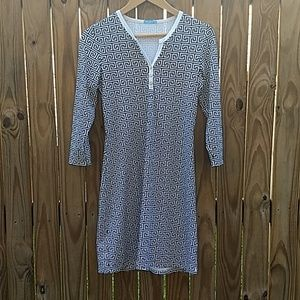J. McLaughlin Greek Key stretchy dress size XS
